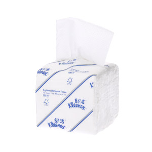 KIMBERLY-CLARK/金佰利 舒洁抽取式卫生纸 0382-20 双层200抽 208×101mm 60包 1箱