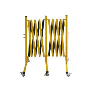 SAFEWARE/安赛瑞 钢制移动式伸缩护栏 11698 1套