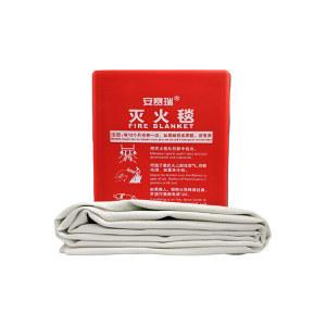 SAFEWARE/安赛瑞 灭火毯 20394 玻璃纤维材料 厚0.43mm 1.2*1.8m 红色 1个