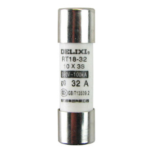 DELIXI/德力西 RT14 圆筒形帽熔断器 RT14(RT18)  3A  Φ10X38 1个