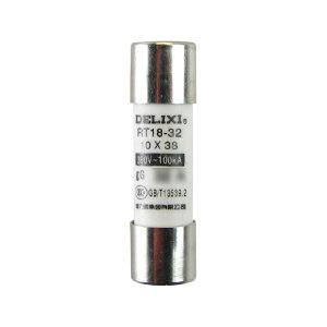 DELIXI/德力西 RT14/18/19 圆筒形帽熔断器 RT1418M1038T6 Φ10X38 1个