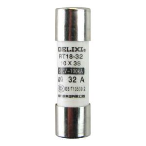 DELIXI/德力西 RT14 圆筒形帽熔断器 RT14(RT18)  8A  Φ10X38 1个