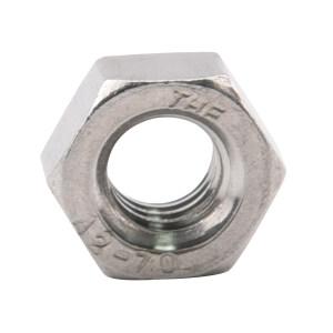 TONG/东明 DIN934 六角螺母 不锈钢304 A2-70 本色 211934010000000000 M10 粗牙 200个 1包