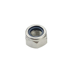 TONG/东明 DIN985 非金属(尼龙)六角锁紧薄螺母 不锈钢304 A2-70 本色 211512010000000000 M10 200个 1包