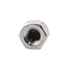 TONG/东明 DIN1587 六角盖形螺母 不锈钢304 A2-70 本色 211409006000000000 M6 300个 1包