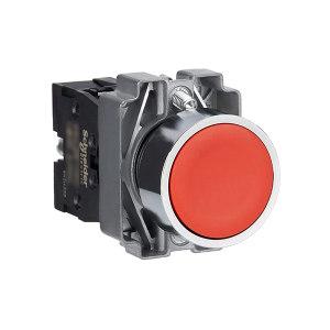 SCHNEIDER/施耐德电气 施耐德-金属按钮XB2-BA42C XB2-BA42C ZB2BZ102C+ZB2BA4C 1套