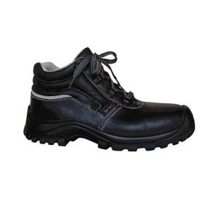 SAISI/赛狮 通用系列中帮牛皮安全鞋 G22 42码 黑色 防砸防刺穿防静电 1双