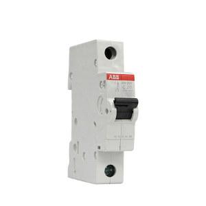 ABB SH200系列微型断路器 SH201-C20 C脱扣 额定电流20A 1个