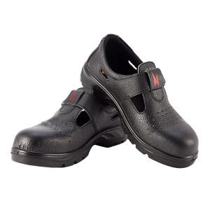 SMART/希玛 夏季牛皮绝缘安全鞋 56067S1 44码 黑色 防砸绝缘 1双