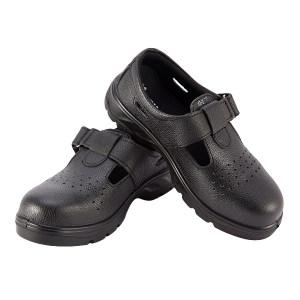 SMART/希玛 夏季牛皮安全鞋 56067S 36码 黑色 防砸防静电 1双
