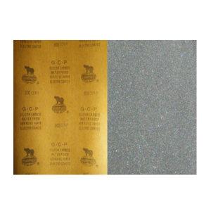 SHARPNESS/犀利 碳化硅耐水砂纸 SH-SIC-CW2000-2C 230×280mm 2000# 100张 1包