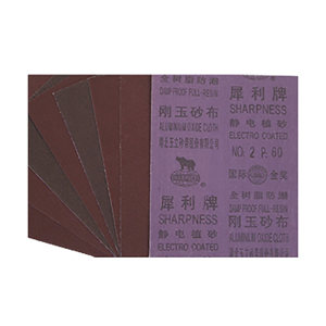 SHARPNESS/犀利 刚玉砂布 SH-SB-60 230×280mm 60# 100张 1包
