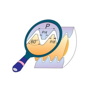 CPT 公制ISO螺纹车刀片 22 IR 6.0 ISO BMA 1盒