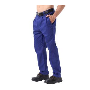AP/友盟 蓝色阻燃工作裤 9700 2XL 1条