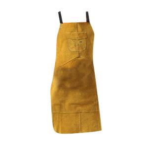 AP/友盟 金黄色全皮护胸围裙 6101 XL 107*63cm 1件