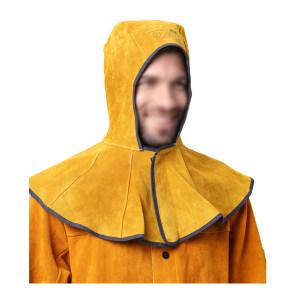 AP/友盟 金黄色牛皮全护式焊帽 3000Y 39*50cm 1个