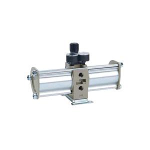 SMC VBA系列增压阀 VBA40A-04 手动型 接口Rc1/2 增压比2倍 1个