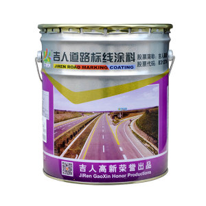 JIREN/吉人 道路划线漆 B86-4 G03艳绿 3kg 1桶