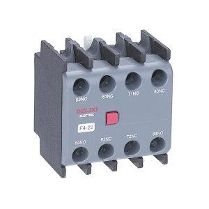 DELIXI/德力西 CJX2s系列交流接触器附件-辅助触头 F4-22 顶辅助触头 1个