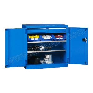 VBANG/位邦 双开门工具柜82系列 GD820302 尺寸1023×555×1000mm 抽屉承重80kg 层板承重100kg 整体蓝色 1台