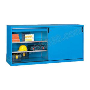 VBANG/位邦 移门工具柜89系列 GD890112 尺寸2046×450×1000mm 抽屉承重80kg 层板承重100kg 蓝门灰柜 1台