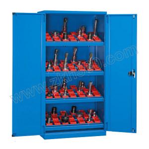 VBANG/位邦 对开门刀具柜 C200201HSK63 外形尺寸1023×550×1800mm 刀套型号HSK63 含4层刀盘(角度可调) 整体灰色 1台