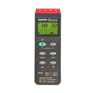 CENTER/群特 4通道温度表 CENTER-309 1台