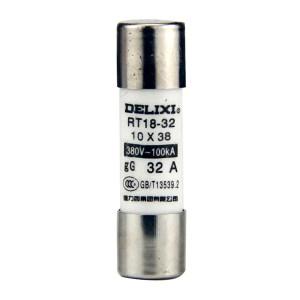 DELIXI/德力西 RT18圆筒形帽熔断器 RT18  32A    Φ10X38 1个