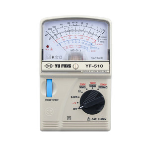 TMS/泰玛斯 电阻表 YF-510(指针) 1台