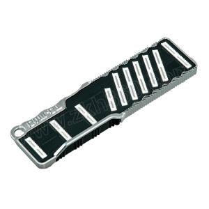 TAJIMA/田岛 超硬板锉刀 1109-0877 180mm 单面细齿色 1把
