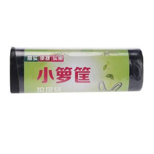 XLK/小箩筐 黑色平口垃圾袋(新料) LH6080-15只装 60×80cm 厚度0.8丝 15只 1卷