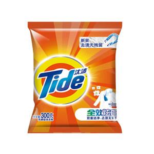 TIDE/汰渍 全效炫白洗衣粉 6903148117668 300g 1包