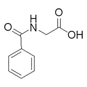 ALADDIN/阿拉丁 马尿酸 H100065-100g CAS:495-69-2 规格:98% 100g 1瓶