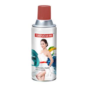 SANO/三和 手摇自动喷漆 1201防锈底漆 1201防锈底漆 铁红 350mL 1罐