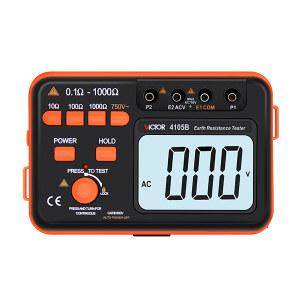 VICTOR/胜利 低电阻测试仪 VICTOR 4105B 接地交流电压750V 不支持第三方检定 1台