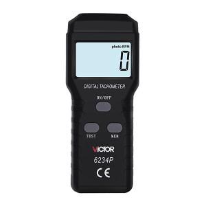 VICTOR/胜利 转速表 VICTOR6234P 非接触式 测量范围2.5~99999r/min 不支持第三方检定 1台