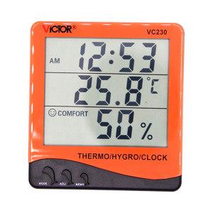 VICTOR/胜利 温湿度仪表 VC230 无外接温度探针 不支持第三方检测/计量 1台