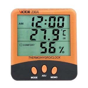 VICTOR/胜利 温湿度表 VC230A 带温度探针 不支持第三方检定 1台