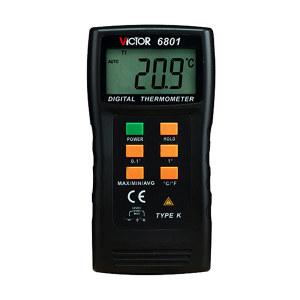 VICTOR/胜利 温度表 VICTOR 6801 测量范围-50~1300℃ 不支持第三方检测/计量 1台