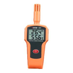 VICTOR/胜利 温湿度表 VICTOR 231 测量范围-25~75℃ 不支持第三方检定 1台