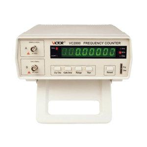 VICTOR/胜利 频率计 VC2000 频率范围10Hz~2.4GHz 不支持第三方检测/计量 1台