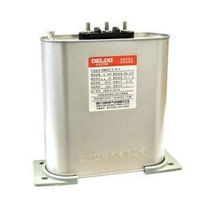DELIXI/德力西 BSMJS系列自愈式低压并联电容器 BSMJS-0-0.45-30-3-D 三相 额定容量30Kvar 1个