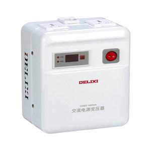 DELIXI/德力西 CDDZ系列交流电源变压器 CDDZ-2000VA 110V/220V 光纤箱 大型箱体 乳白面板 1个