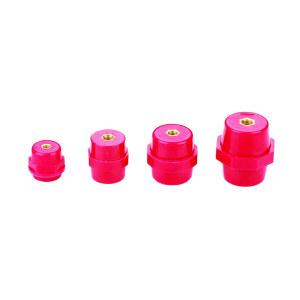 DELIXI/德力西 SM7120系列绝缘子 SM7120红色绝缘子 高度60 螺纹M10(10只) 1包