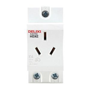 DELIXI/德力西 HDXE模数化插座 HDXE 插座 三插 10A TM 1个