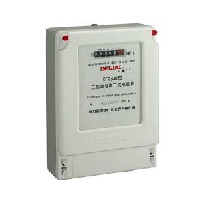 DELIXI/德力西 DTS606系列三相四线电子式电能表 DTS606 3×220/380V 1.0级 3×30(100)A 1个