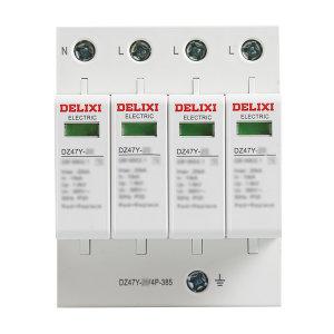 DELIXI/德力西 DZ47Y系列电涌保护器 DZ47Y-40/4P-440 1个