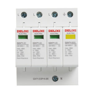 DELIXI/德力西 DZ47Y系列电涌保护器 DZ47Y-40/3P+N-385 1个