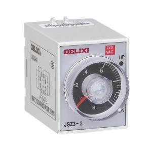 DELIXI/德力西 JSZ3系列引进超级时间继电器 JSZ3A-A  0.5S/5S/30S/3M   DC24V 1个