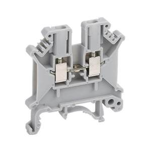 DELIXI/德力西 UK系列接线端子板 UK-2.5N/1片 1个